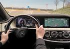 Modernizovaný Mercedes-Benz S odhaluje techniku. Samořídící auta jsou opět o krok blíže