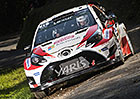 Rallye Korsika po 1. etapě: Meeke těsně vede