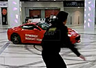 Video: Ruský starosta driftuje v nákupním centru