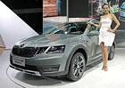 Škoda v Šanghaji 2017: Kodiaq má více chromu, Octavia Scout pouze přední pohon