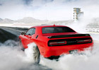 Dodge Challenger SRT Hellcat: Do basy za rychlost 250 km/h