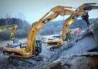 D1 na Pelhřimovsku bude v noci na neděli stát kvůli bourání mostů