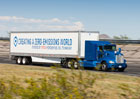 Toyota Project Portal a konvenční tahač s návěsem soutěží ve zrychlení