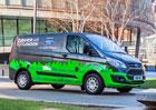 Ford Transit Custom Plug-In: Provozní zkouška