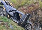 Koenigsegg Agera RS boural při testování. Posádka skončila v nemocnici