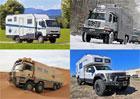 Obytná auta do divočiny aneb od pick-upů až po osmikolové náklaďáky