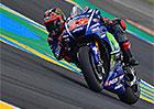 Motocyklová VC Francie 2017: Den Yamahy pro Viñalese, Rossi na zemi