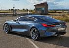 BMW 8 Concept oficiálně: Předzvěst nového kupé pro rok 2018