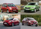 Nejprodávanější vozy Evropy podle států. Vede Škoda i v jiných státech?