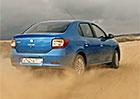 Dacia Logan driftuje v ruské reklamě jako o život