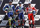Motocyklová VC Itálie 2017: Pole position pro M. Viñalese, Morbidelliho a Martína