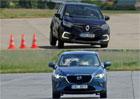 Mazda CX-3 vs. Renault Captur: Kdo si lépe poradí s vyhýbacím manévrem?