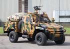 Otokar představil armádní speciál Ural Pick-up s pancéřovanou kabinou
