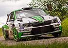 Rallye Bohemia 2017: Posedmé vyhrál Jan Kopecký s Fabií R5