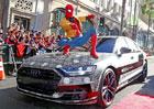 Audi na Náplavce ukáže svou vlajkovou loď. V Los Angeles ji odhalil Spider-Man