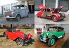 Československá auta za oceánem. V USA mají obří muzeum Škodovek, Tater i Velorexů!