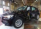 Euro NCAP 2017: Alfa Romeo Stelvio – Pět hvězd pro první SUV slavné značky