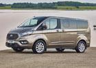 Nový Ford Tourneo Custom chce být luxusní dodávkou. Nabídne i vzduchový podvozek