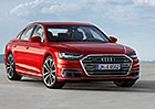 Audi přijíždí s novou vlajkovou lodí A8: Dostala mnoho našlapaných technologií