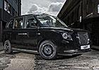 Slavný londýnský taxík v novém. Je to hybrid a inspiroval se Volvem!