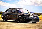 Podívejte se, jak akceleruje nejrychlejší Mitsubishi Evo světa. Jede téměř 300 km/h!