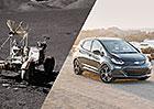 Chevrolet Bolt EV míří vysoko. Značka jej srovnává s vozítkem pro jízdu na Měsíci!