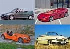 5 nejzajímavějších kabrioletů české výroby. Superauto, podivín i dar pro Stalina