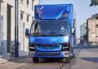 Daimler zahájil výrobu Fuso eCanter v Evropě