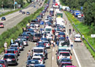 Evropa má za sebou víkend dopravních kolapsů. Kde to bylo nejhorší?