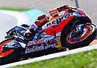 Motocyklová VC České republiky: Marc Márquez vyhrál díky rychlé výměně motorky