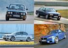 BMW M5: Připomeňte si historii ikonického sportovního sedanu v obrovské fotogalerii