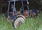 To nevymyslíš. Policejní hlídce na Svitavsku ujížděl… malotraktorem!