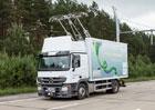 Vybité baterie? Kamiony na německých dálnicích budou dobíjet troleje