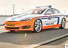 Tesla Model S nastupuje do policejní služby! Zvládne elektromobil své úkoly?