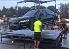 Hlavní hvězda dorazila: Takhle se Audi A8 připravovala na výstavu Auta na náplavce