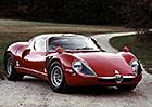 Alfa Romeo Tipo 33 Stradale: Ikonický silniční supersport s křížem a hadem slaví 50 let