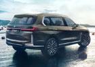 Koncept BMW X7 oficiálně. Nejluxusnější mnichovské SUV míří do Frankfurtu