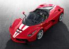 Ferrari LaFerrari Aperta bylo vydraženo za rekordní částku ve prospěch dětí