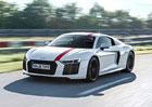 Audi R8 V10 RWS je očekávanou zadokolkou se čtyřmi kruhy ve znaku