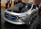Mercedes-Benz Concept EQA: Dvoudveřový sportovní kompakt s hvězdou jezdí na elektřinu