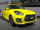 Suzuki Swift Sport ve Frankfurtu doslova září. A jenom žlutou barvou to není!