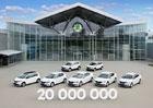 Automobilka Škoda Auto vyrobila 20 milionů automobilů