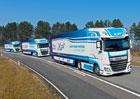 DAF Trucks se podílí na testech bezdrátově propojených souprav vozidel