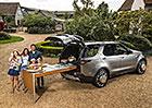 Slavný kuchař Jamie Oliver upravil Land Rover Discovery. Má z něj kuchyň!