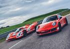 Porsche 911 Carrera 4 GTS British Legends Edition v barvách slavných vítězů z Le Mans