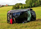 Jak tohle mohl někdo přežit? Drsná havárie Audi RS3 v rychlosti 200 km/h