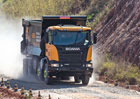 Scania uvedla těžké sklápěče s vyšší užitečnou hmotností