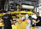 Továrna Lamborghini už je připravena na výrobu SUV Urus. Podívejte se!