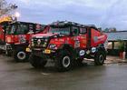 MKR Technology představuje kamiony pro Dakar 2018
