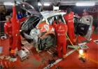 Tři hodiny v třiceti sekundách: Podívejte se, jak po nehodě probíhá oprava vozu WRC